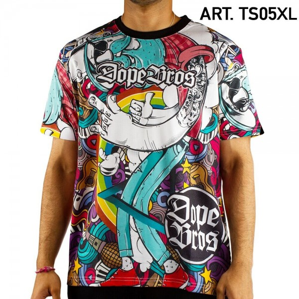 Dope Bros | Amsterdam T-Shirt SIZE-XL