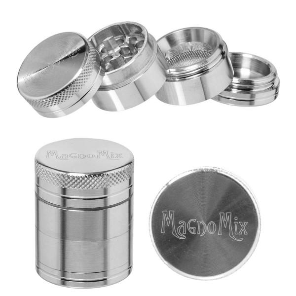 Magno Mix | Grinder- 4part - Ø:30mm - Silver