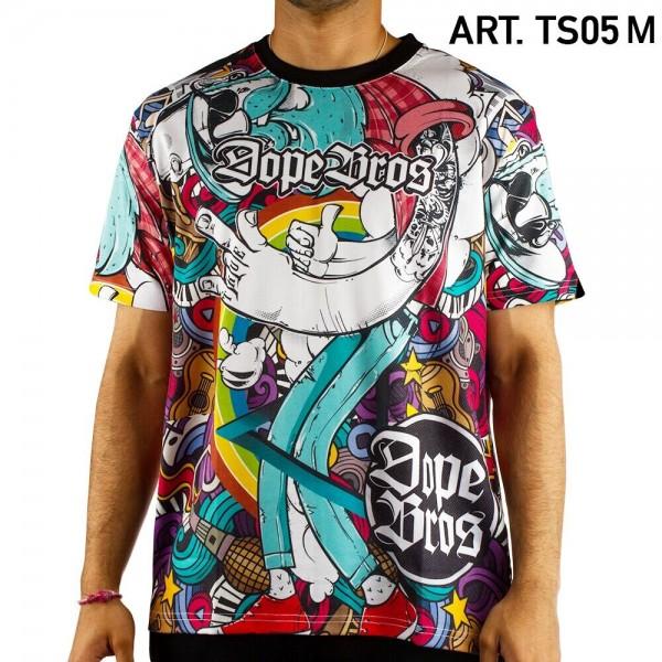 Dope Bros | Amsterdam T-Shirt SIZE-M