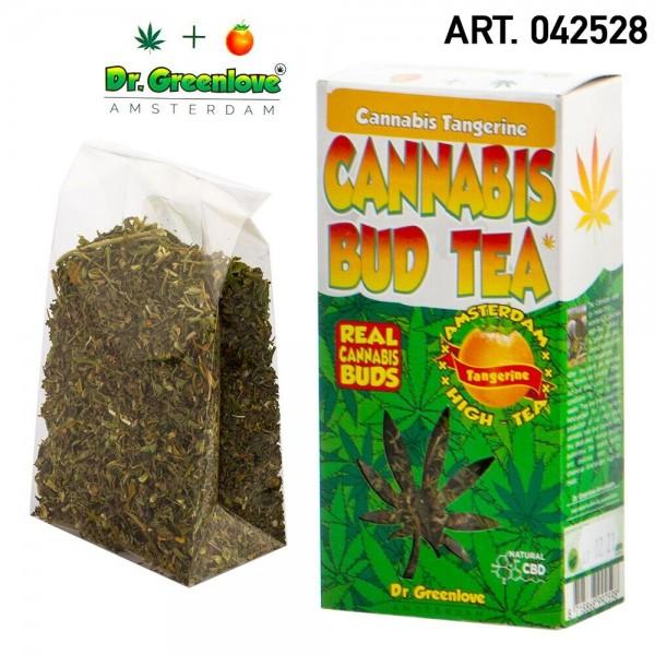 Cannabis | 100% Cannabis Bud Tea Tangerine - Hemp Bud Tea made with 100% real cannabis buds!