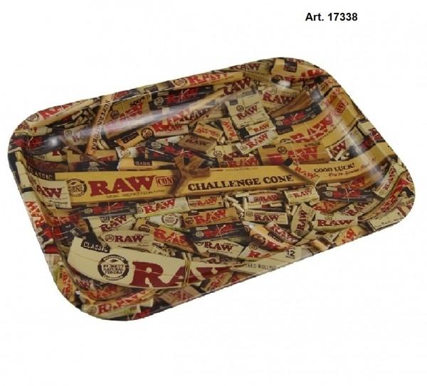 RAW | Mix Metal Rolling Tray Small - W:17.5cm H:27.5cm