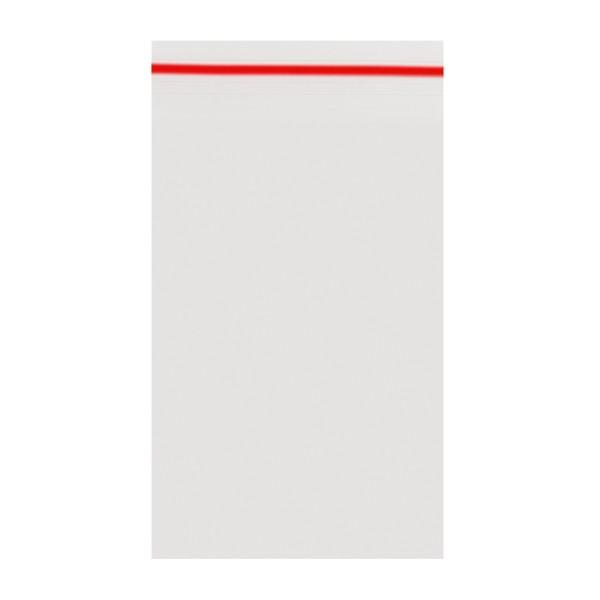 Amsterdam | Zipper Bags 40mm x 60mm 50µ (MU) Red 1000pcs in a display