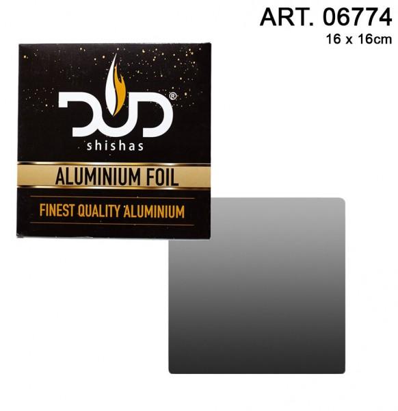 DUD Shisha   Aluminium Shisha Foil High Quality- 50pcs/box - Extra thickness 0.04 mm