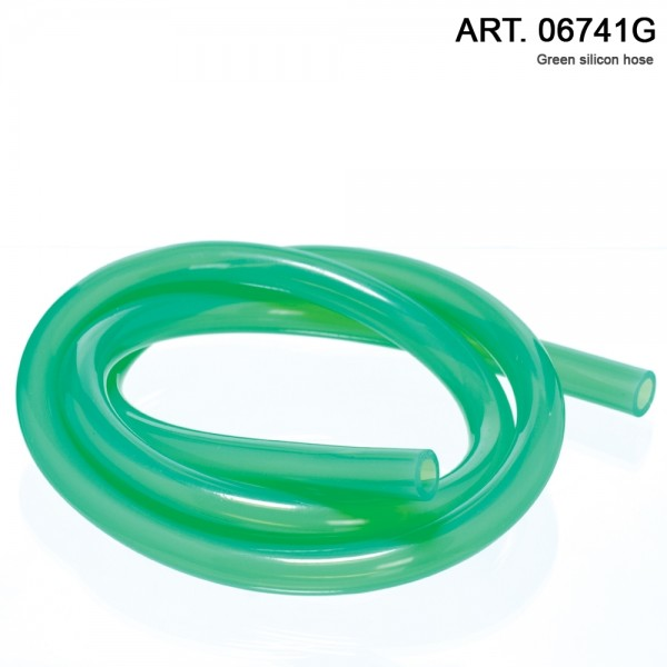DUD Shishas | Silicon Hose- L: 1.5 m. per 1pcs color: Green