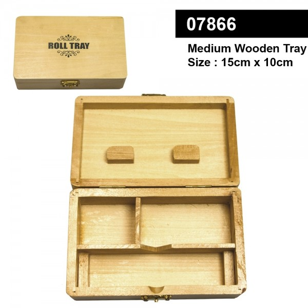 Medium Wooden Roll Tray-15cm x 10cm