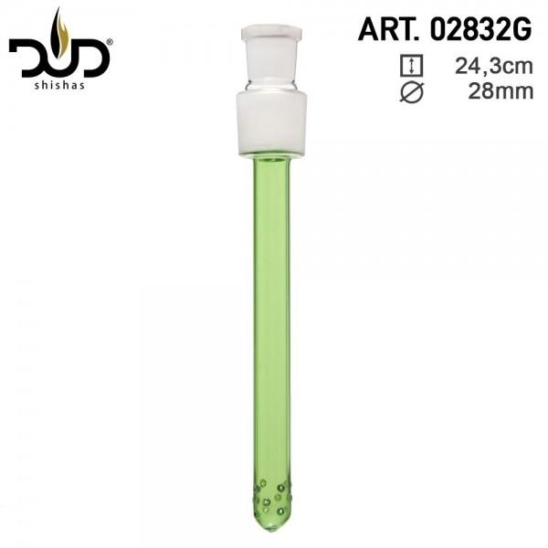 DUD Shisha | Replacement diffuser Chillum for Glass Hookah art 02818G - Green