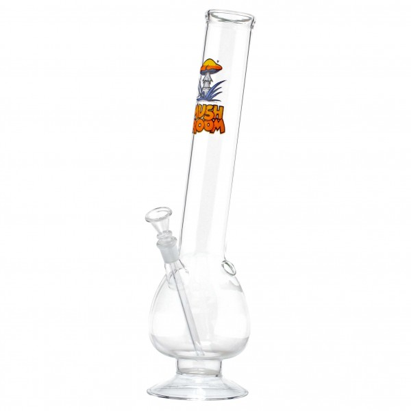 Mushroom Bouncer Hangover Glass Bong- H:40cm - Ø:50mm - Socket:14.5mm