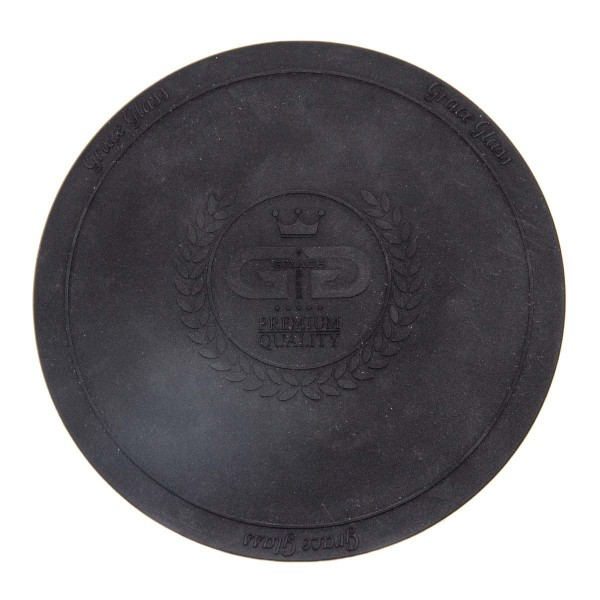 DUD Shisha | Large silicon Pad - Underlay for Shishas- BLACK- Ø:250mm- single piece