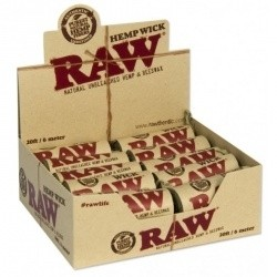 RAW | Hemp Wick 600cm long and 20 pcs in display