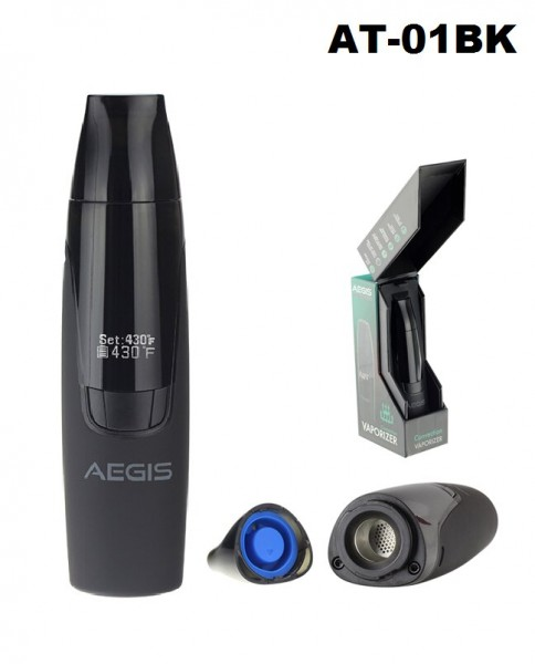 Atmos | Aegis Convection Dry Herb Vaporizer-Hard Anodized