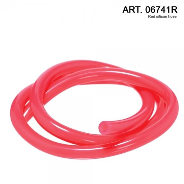 DUD Shishas | Silicon Hose- L: 1.5 m. per 1pcs color: Red