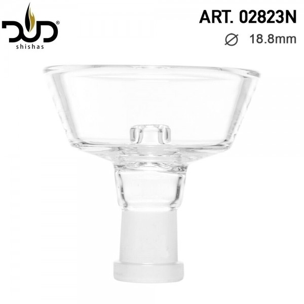 DUD Hookah Bowl- SG:18.8mm- Ø:80mm- (Female) (new Big size)- REPLACEMENT FOR SS1001