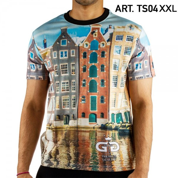 Grace Glass | Amsterdam T-Shirt SIZE-XXL