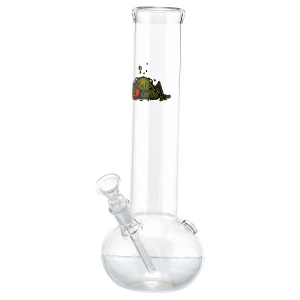Bullfrog | Bouncer Glass Bong - H:29cm - Ø:50mm - Socket:14.5mm-6pcs/display