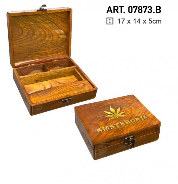 Big Wooden Amsterdam Box-17cm x 14cm