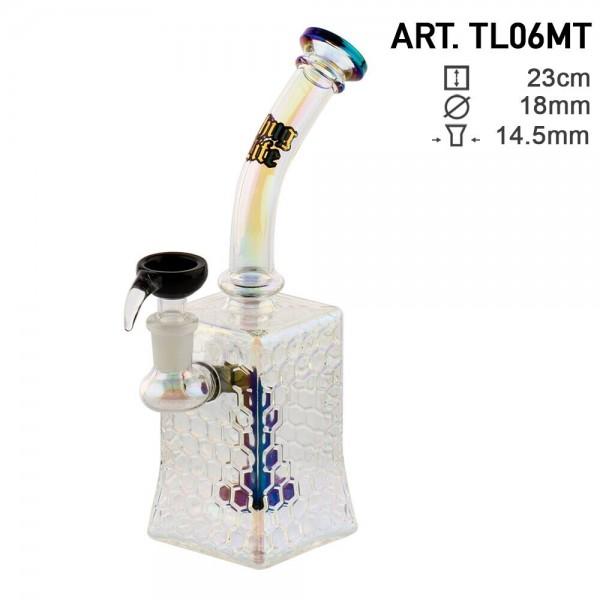 Thug Life   Bubbler Giza - H:23cm - Ø:18mm - SG:14.5mm