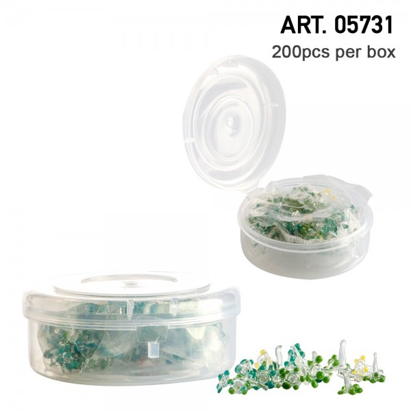 Amsterdam   Glass Flowers screen circa Ø:4mm and 200pcs in display